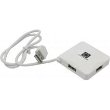 Концентратор USB 2.0 4-Port 5bites <HB24-202WH>