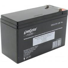 Батарея аккумуляторная Exegate EG7-12/EXG1270 12V 7Ач