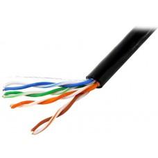 Кабель Ethernet UTP 4P 5-cat. BaseLevel  бухта 1м/305м для  внешней  прокладки