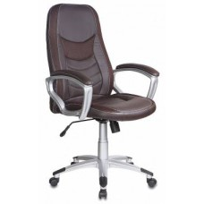 Кресло руководителя Бюрократ T-9910/BROWN