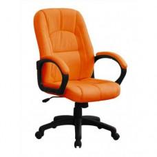 Кресло поворотное С111 PU оранж