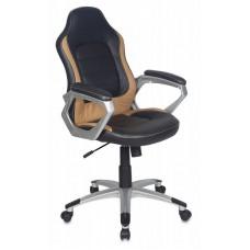Кресло руководителя Бюрократ CH-825S/Black+Bg