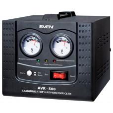 Стабилизатор напряжения сетевой Sven AVR 500