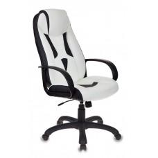 Кресло игровое Бюрократ VIKING-8/WH+BLACK