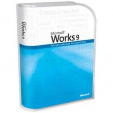 Комплект ПО MS Works 9.0 Win32 Russian DSP 3 OEI CD (070-03584)