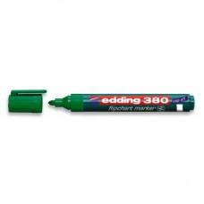 Маркер для флипчартов Edding e-380/4 зеленый