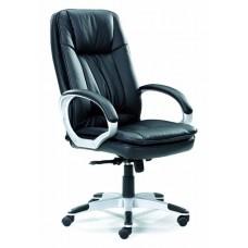 Кресло Сириус С356 PU002 черный/хром