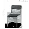 Стул для посетителей Аскона кожзам хром от 80 шт