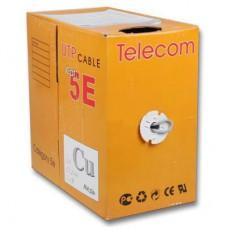 """Кабель Ethernet FTP 4P 5E-LEVEL """"Telecom"""" <TC1000C5EN(CU) Outdoor solid>   бухта 1м/305м"""